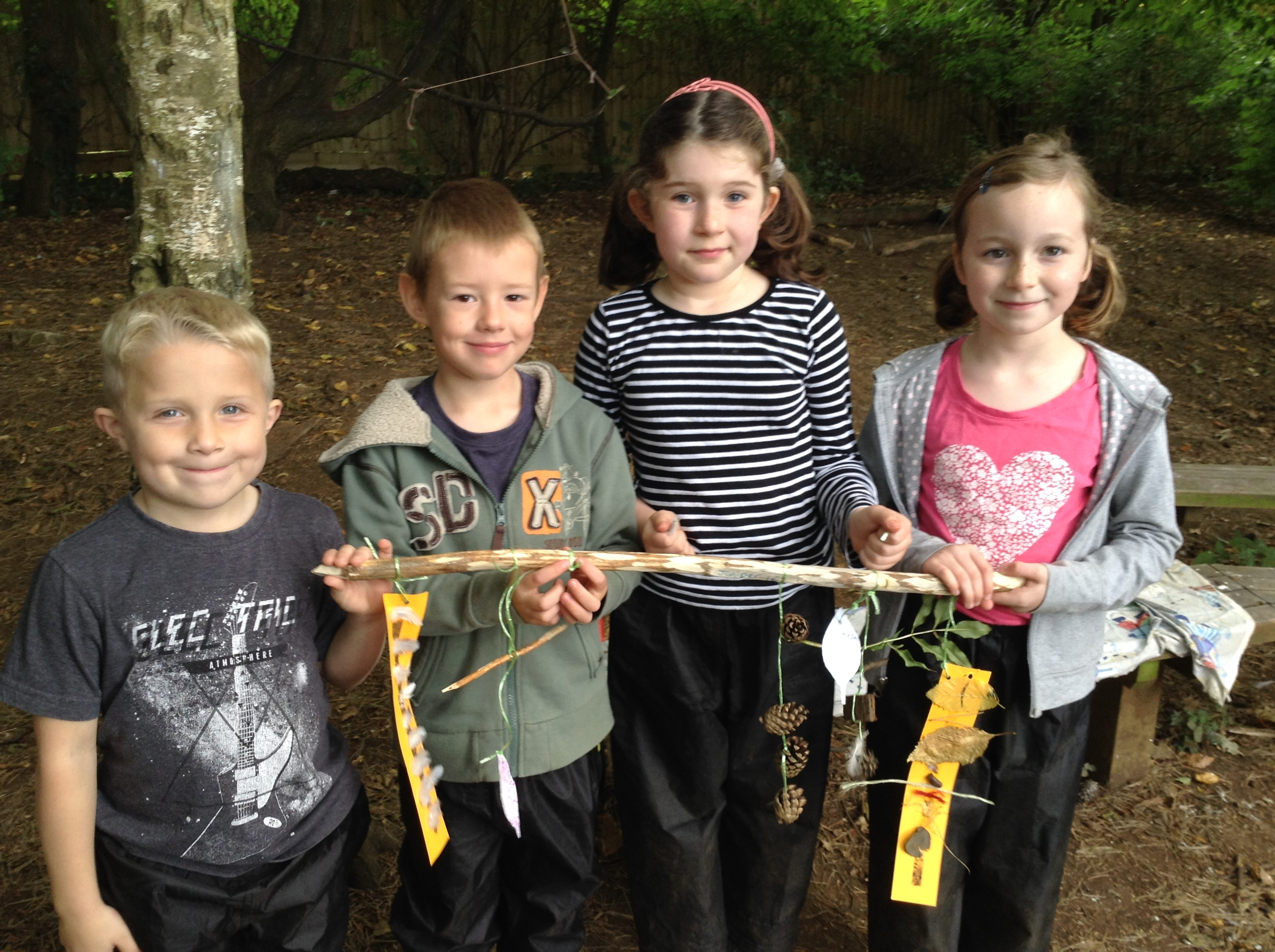 Forest school group